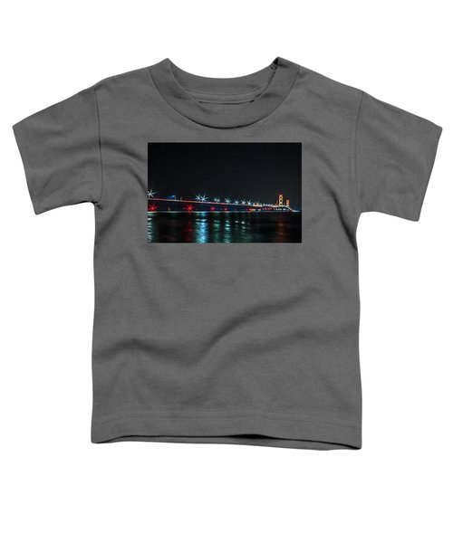 Mackinac Bridge  Toddler T-Shirt