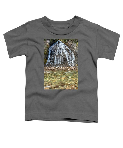 Cascades Of Maligne Canyon Toddler T-Shirt
