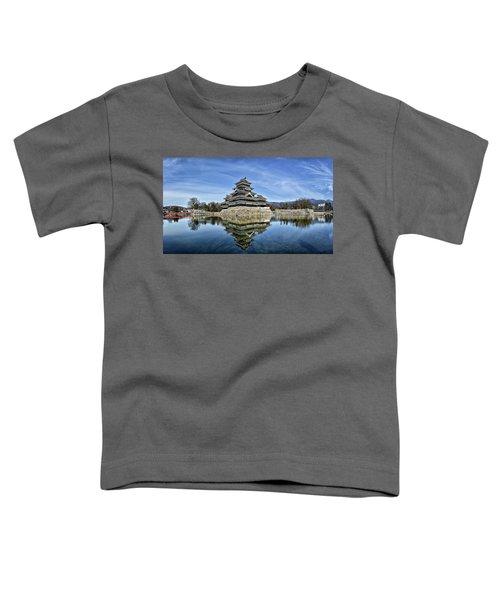Matsumoto Castle Panorama Toddler T-Shirt
