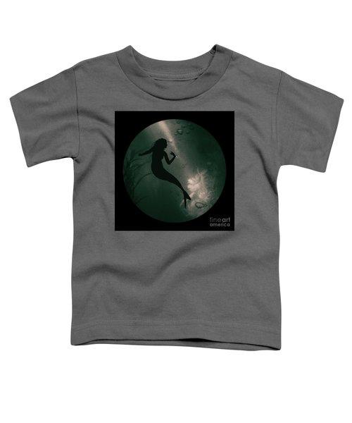 Mermaid Deep Underwater Toddler T-Shirt