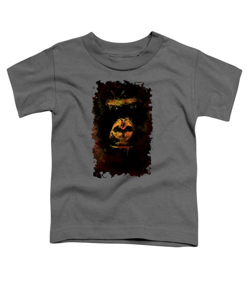 Toddler T-Shirt featuring the photograph Mighty Gorilla by Jaroslaw Blaminsky