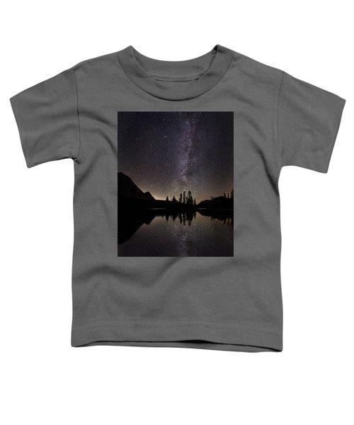 Mirror Lake Milky Way Toddler T-Shirt