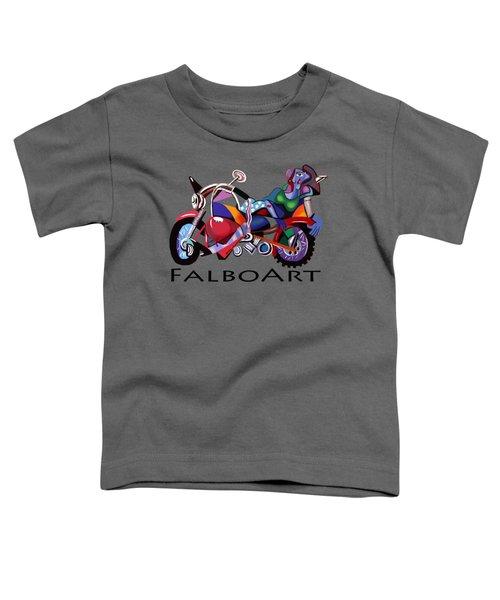 Motorcycle Mama Toddler T-Shirt