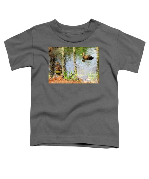 Mottled Duck Pair Toddler T-Shirt