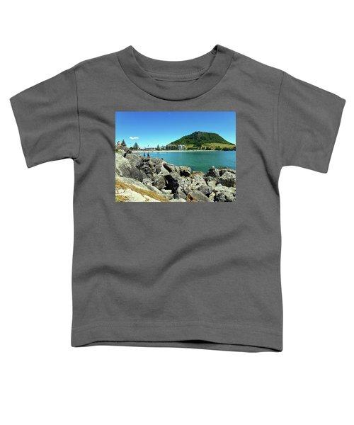 Mt Maunganui Beach 11 - Tauranga New Zealand Toddler T-Shirt