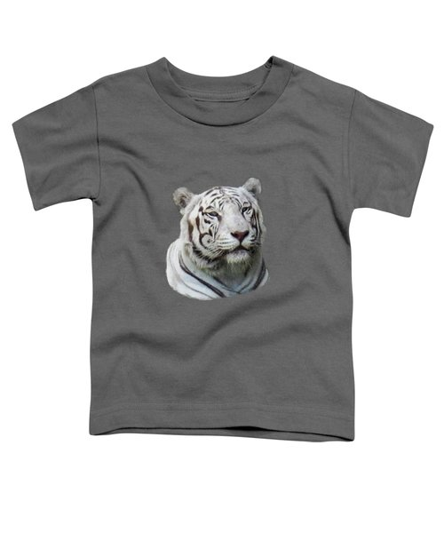Namaste White Tiger Toddler T-Shirt