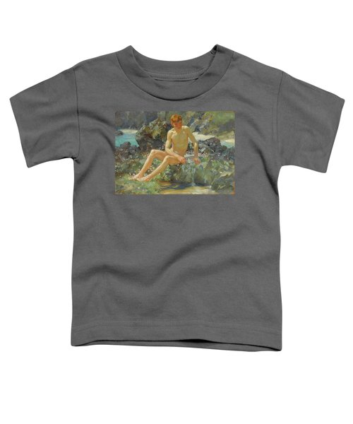 Nude On The Rocks Toddler T-Shirt