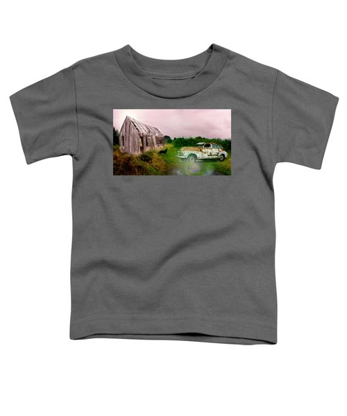Toddler T-Shirt featuring the photograph Ol' Rusty by Alison Frank