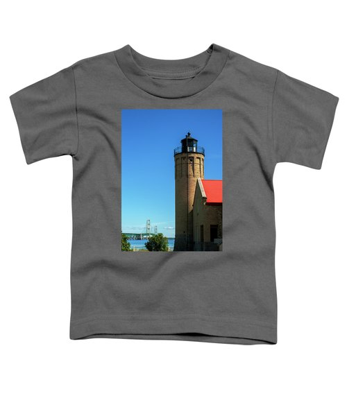 Old Mackinac Point Lighthouse Toddler T-Shirt