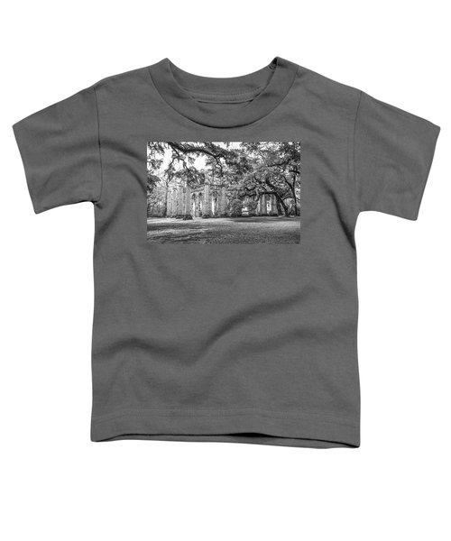 Old Sheldon Church - Tree Canopy Toddler T-Shirt