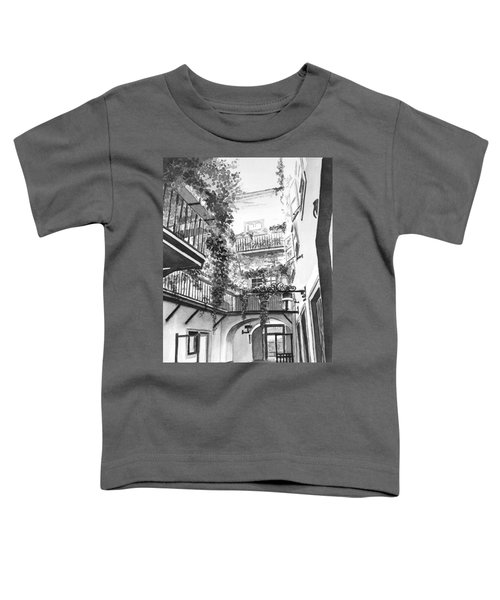 Old Viennese Courtyard Toddler T-Shirt