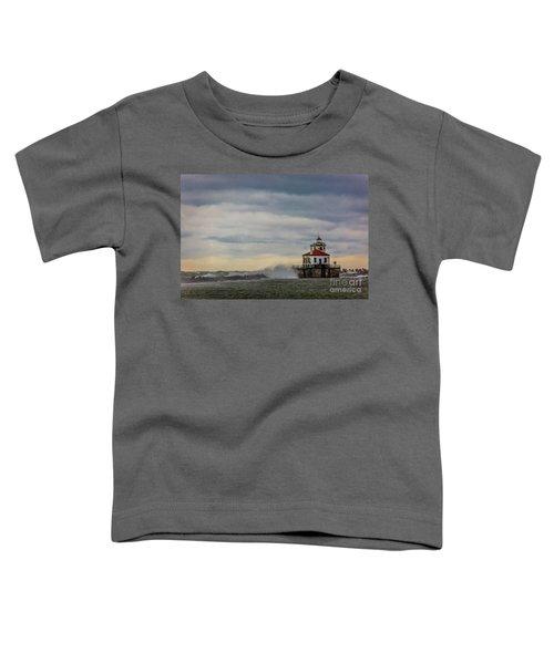 Oswego Harbor West Pierhead Light Toddler T-Shirt