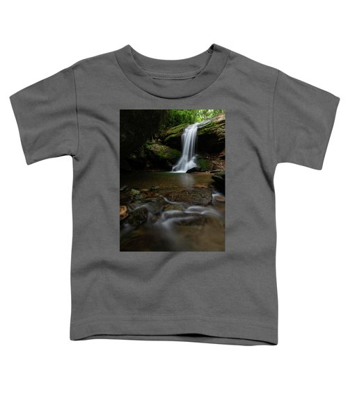 Otter Falls - Seven Devils, North Carolina Toddler T-Shirt