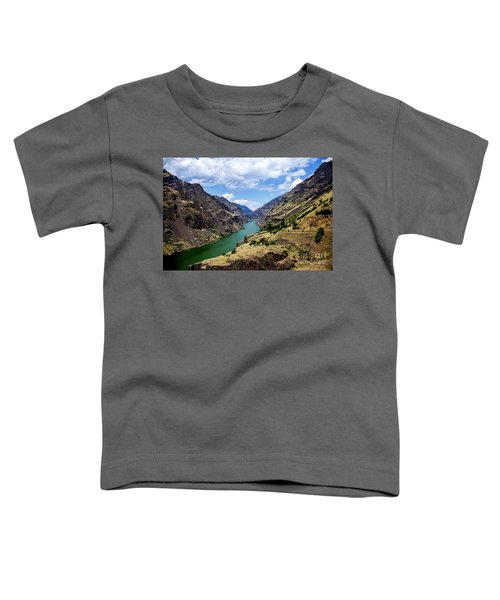 Oxbow Dam Tailwater Idaho Journey Landscape Photography By Kaylyn Franks  Toddler T-Shirt