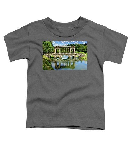 Palladian Bridge Nature Scene Toddler T-Shirt