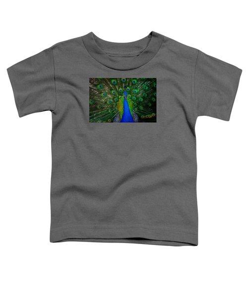Peacock Toddler T-Shirt