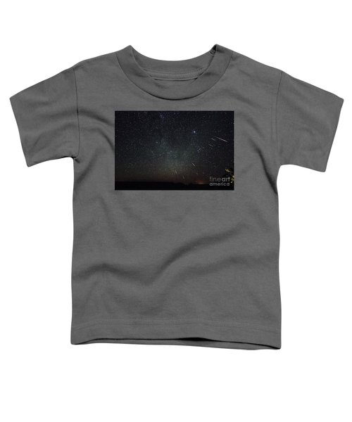 Perseid Meteor Shower Toddler T-Shirt