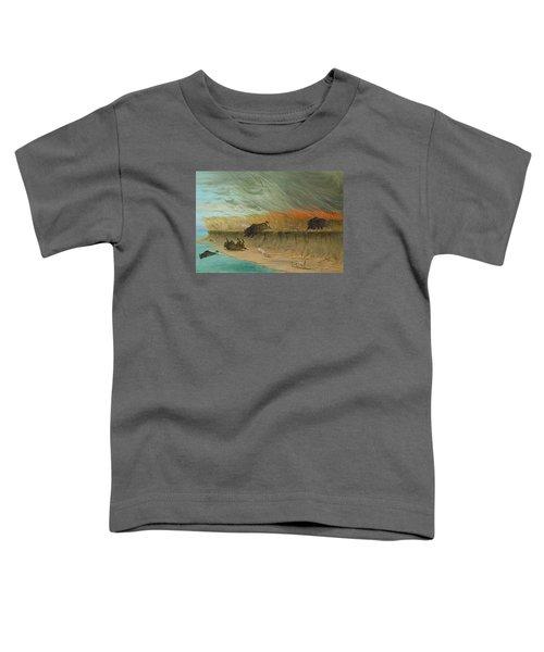 Prairie Meadows Burning Toddler T-Shirt