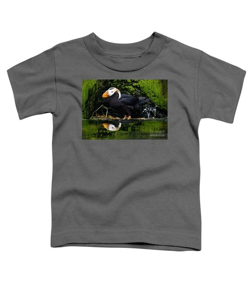 Puffin Reflected Toddler T-Shirt
