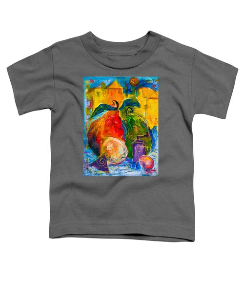 Red And Green Pears Toddler T-Shirt