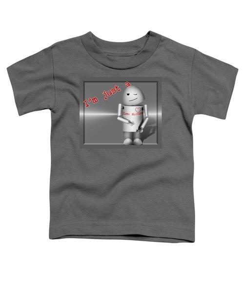 Robo-x9 The Love Machine Toddler T-Shirt