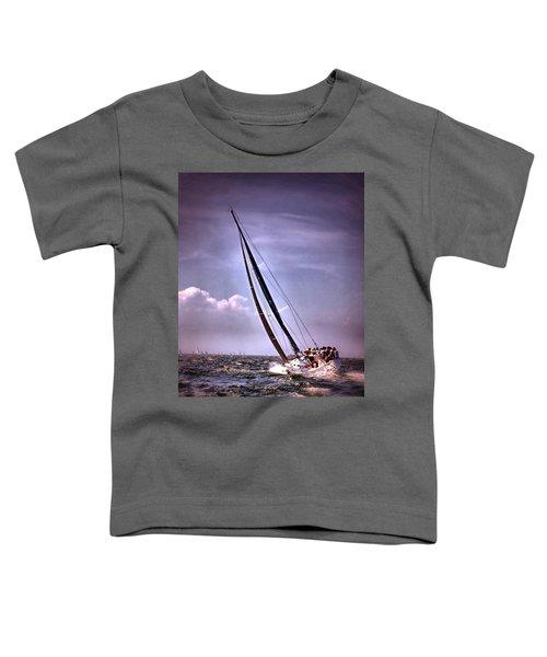 Sailing To Nantucket 003 Toddler T-Shirt