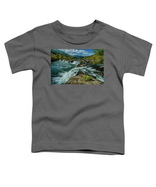 Sandstone Falls New River Toddler T-Shirt