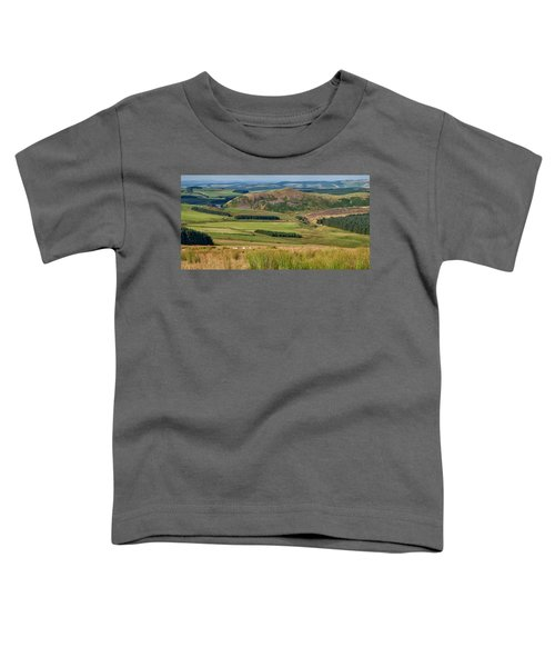 Scotland View From The English Borders Toddler T-Shirt by Jeremy Lavender Photography