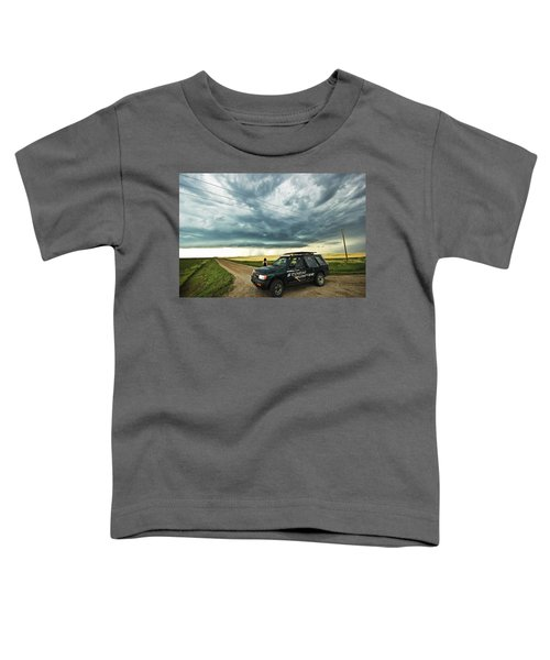 Shelf Cloud Near Vibank Sk. Toddler T-Shirt