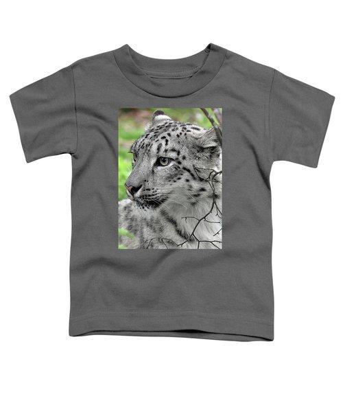 Snow Leopard Toddler T-Shirt