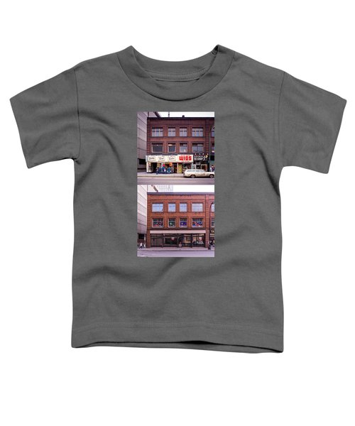 Something's Going On At The Greeting Card Center. Toddler T-Shirt