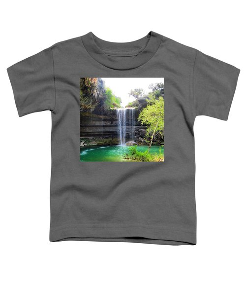 Spent The Day At Hamilton Pool. Yes Toddler T-Shirt