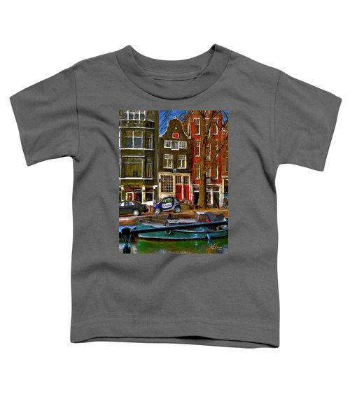 Spiegelgracht 6. Amsterdam Toddler T-Shirt