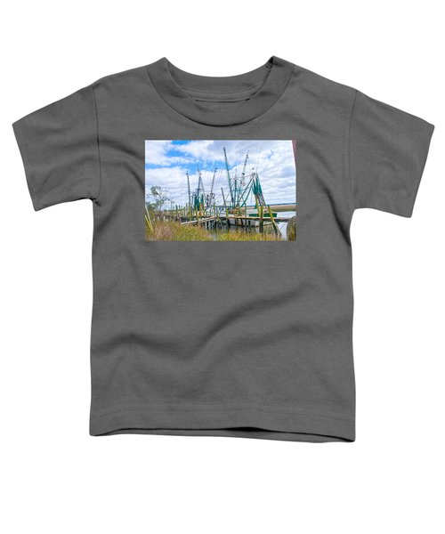 St. Helena Shrimp Boats  Toddler T-Shirt