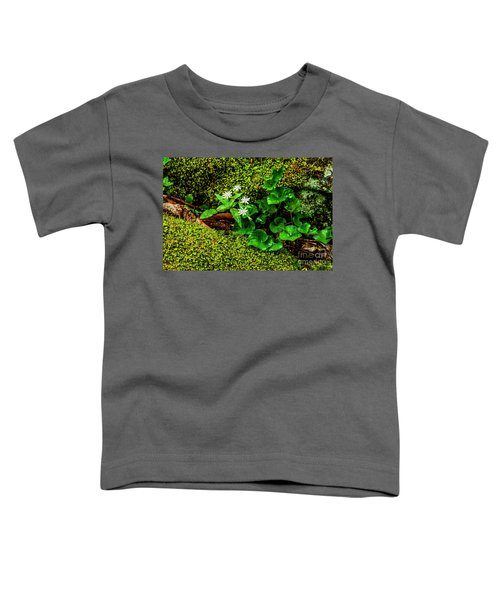 Star Chickweed Mossy Rock Toddler T-Shirt