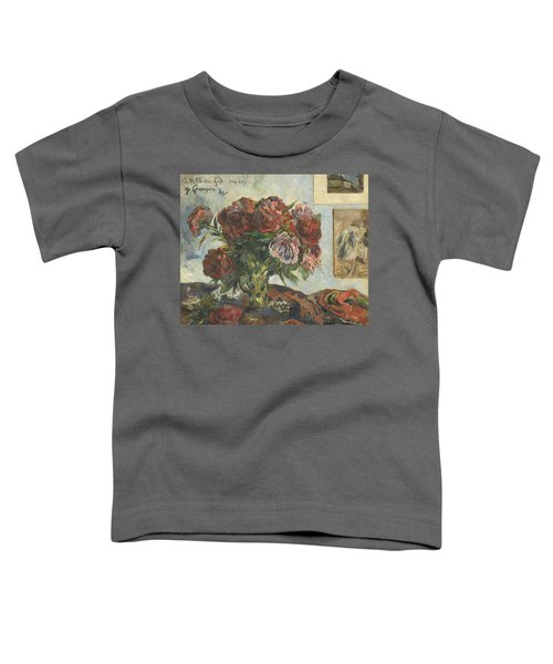 Still Life With Peonies Toddler T-Shirt