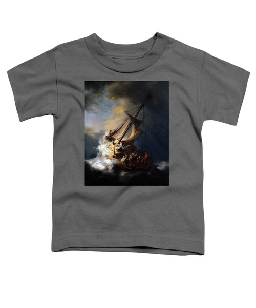 Storm On The Sea Of Galilee Toddler T-Shirt