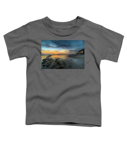 Sunset At Swamis Beach Toddler T-Shirt