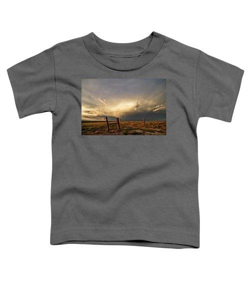 Sunset Near Santa Rosa New Mexico Toddler T-Shirt