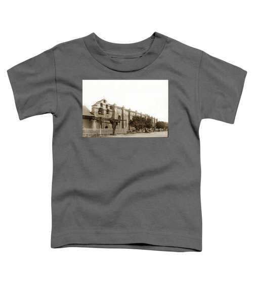 The Campanario, Or Bell Tower Of San Gabriel Mission Circa 1890 Toddler T-Shirt