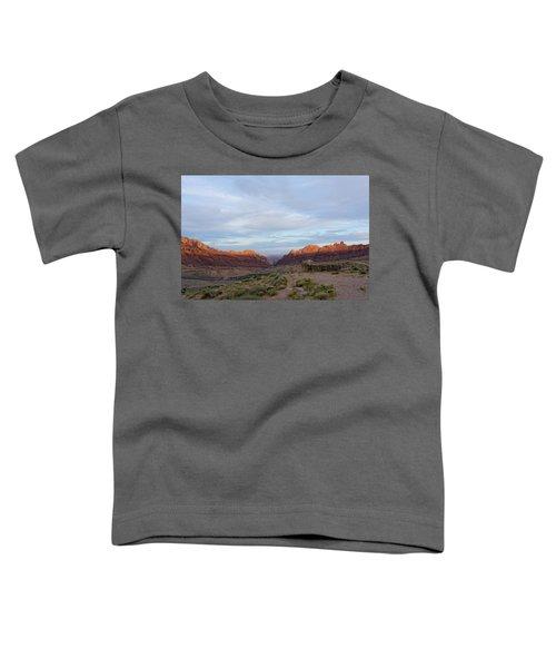 The Castles Near Green River Utah Toddler T-Shirt