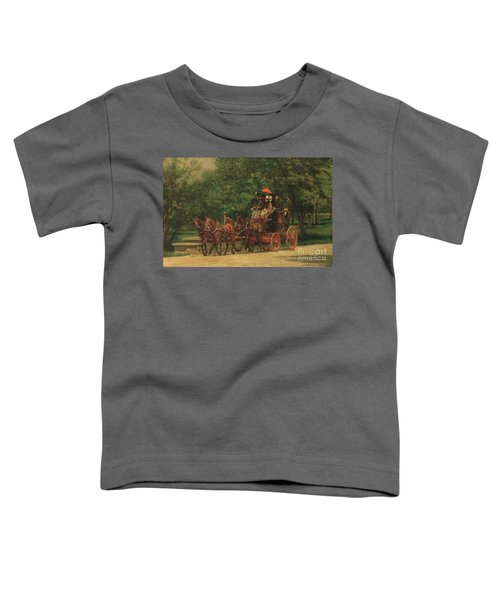 The Fairman Rogers Coach And Four Toddler T-Shirt