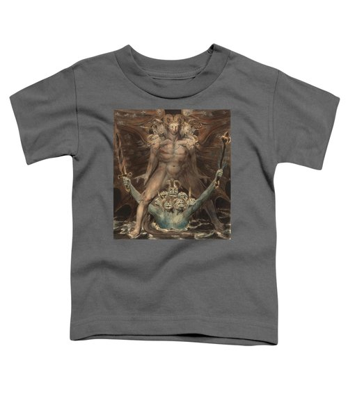 The Great Red Dragon And The Beast From The Sea Toddler T-Shirt