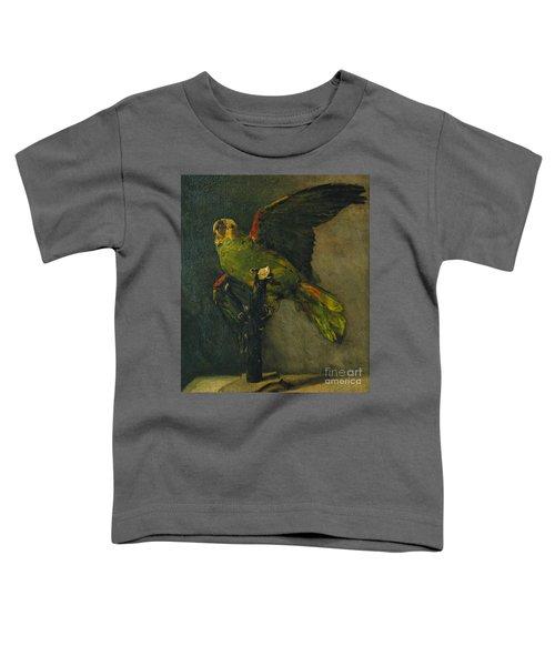 The Green Parrot Toddler T-Shirt