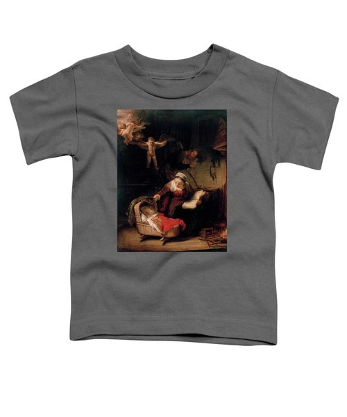The Holy Family With Angels Toddler T-Shirt