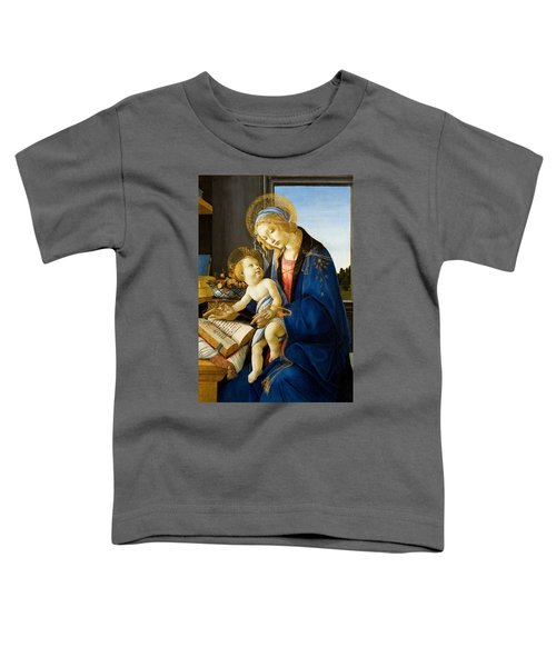 The Madonna Of The Book Toddler T-Shirt