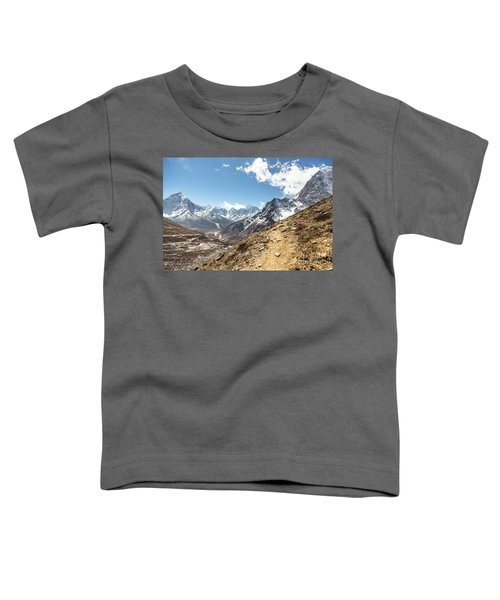 The Path To Cho La Pass In Nepal Toddler T-Shirt