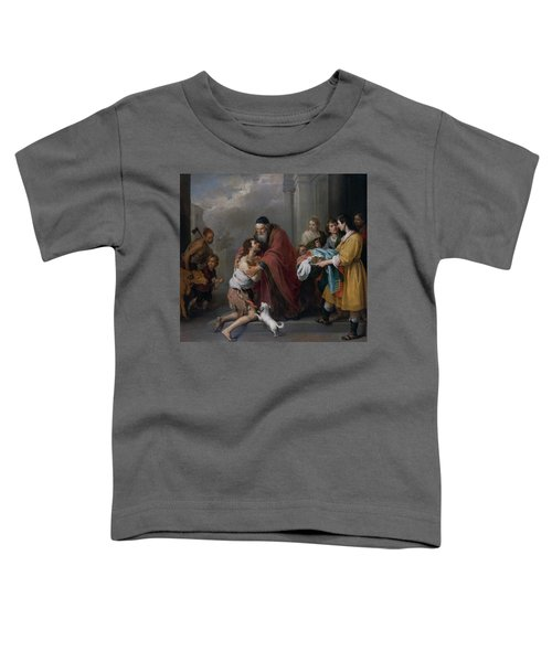 The Return Of The Prodigal Son Toddler T-Shirt