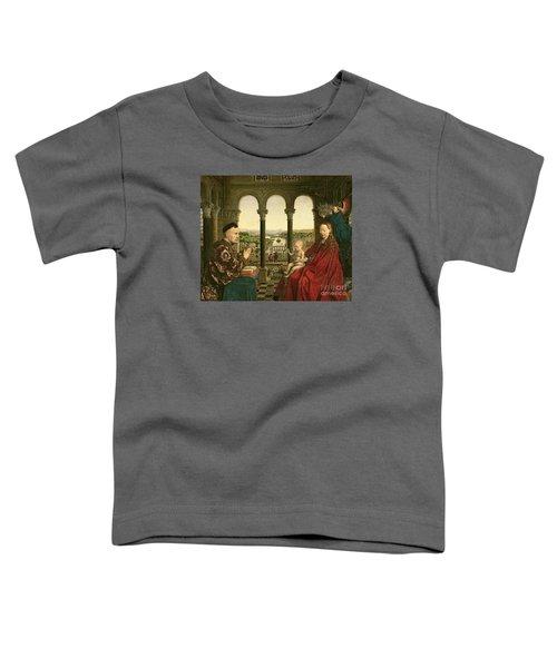 The Rolin Madonna Toddler T-Shirt