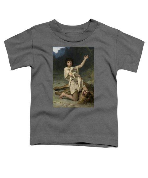 The Shepherd David Triumphant Toddler T-Shirt